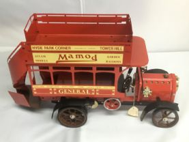 SOLD  Early (1989) Mamod Bus (red)  Unfired.